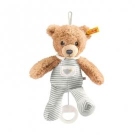 Steiff - Babywelt - Spielzeug - Spieluhren - Schlaf-gut-Bär Spieluhr, grau, 20cm
