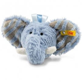Steiff - Soft Cuddly Friends Earz Elefant Rassel, 12 cm