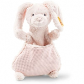 Steiff - Soft Cuddly Friends Belly Hase Schmusetuch, 27 cm