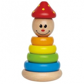Hape - Stapel-Clown