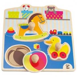 Hape - Knopfpuzzle Mein Spielzeug