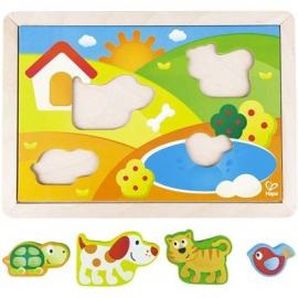 Hape - Pepe und Friends Sonnental Puzzle