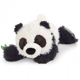 NICI - Wild Friends Kuscheltier Panda Yaa Boo liegend, 30 cm