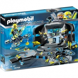 Playmobil® 9250 - Top Agents - Dr. Drones Command Center