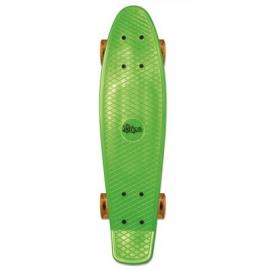 No Rules - Skateboard fun grün - transparent orange