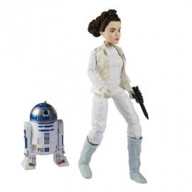 Hasbro - Star Wars™ Die Mächte des Schicksals 11&quot -  Figuren 2er Set - LEIA und R2D2