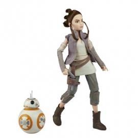 Hasbro - Star Wars™ Die Mächte des Schicksals 11&quot -  Figuren 2er Set -  REY und BB8