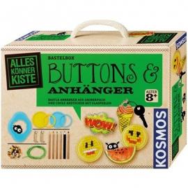 KOSMOS - Buttons und Anhänger