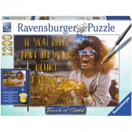 Ravensburger Puzzle - Touch of Gold - Show me Love, 1200 Teile