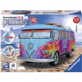 Ravensburger Puzzle - 3D Puzzles - VW Bus T1 Indian Summer, 162 Teile