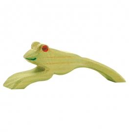 Frosch springend