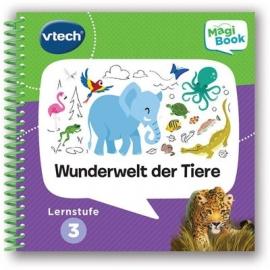 VTech - MagiBook Lernstufe 3 - Wunderwelt der Tiere