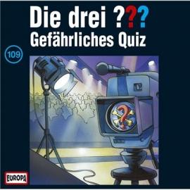 Europa - CD Die drei ??? Gefährliches Quiz, Folge 109