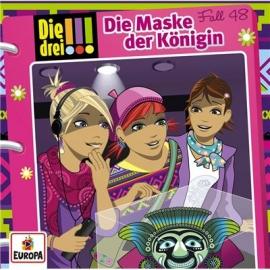 Europa - CD Die drei !!! Maske der Königin, Folge 48