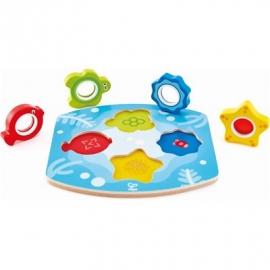 Hape - Meeres-Suchpuzzle, 5 Teile