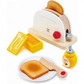 Hape - Pop-up-Toaster-Set