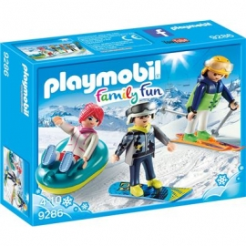 Playmobil® 9286 - Family Fun - Freizeit-Wintersportler