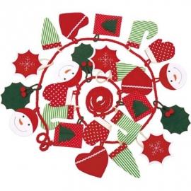 Käthe Kruse - Adventskalender grün-rot