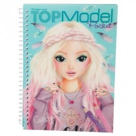 Depesche - TOP Model Pocket Malbuch mit 3D Cover