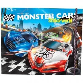 Depesche - Monster Cars Stickerworld