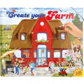 Depesche - Create your Farm - Malbuch mit Stickern