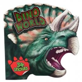 Depesche - Dino World Malbuch figürlich mit Stickern