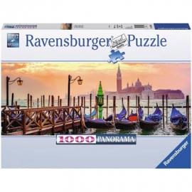 Ravensburger Puzzle - Gondeln in Venedig, 1000 Teile