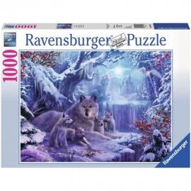 Ravensburger Puzzle - Winterwölfe, 1000 Teile