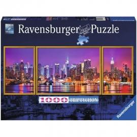 Ravensburger Puzzle - New York Triptychon, 1000 Teile