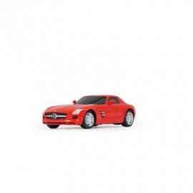 Jamara - Fahrzeug - Mercedes SLS AMG 1:24 rot 40MHz