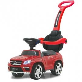 Jamara Kids - Rutschfahrzeug, Mercedes GL63AMG rot 2in1
