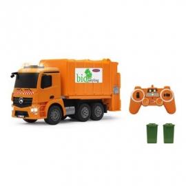 Jamara - Nutzfahrzeug, Müllwagen Mercedes-Benz Antos 2,4 GHz