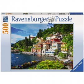 Ravensburger Puzzle - Comer See, Italien, 500 Teile