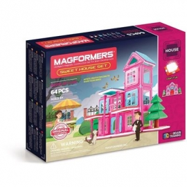 Magformers - House Set Line - Sweet House Set 64