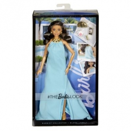 Mattel - Barbie Collector Black Label Classics - Barbie Look Doll Blue Dress