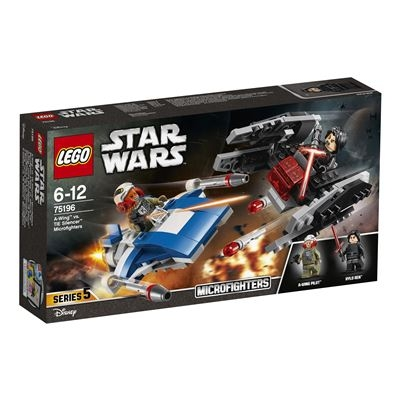 LEGO® Star Wars™ - 75196 A-Wing vs. TIE Silencer Microfighters