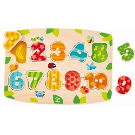 Hape - Zahlenpuzzle, 11 Teile