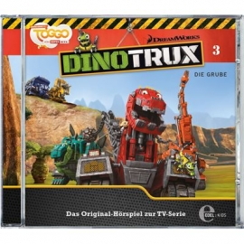 Edel:KIDS CD - Dinotrux - Die Grube, Folge 3