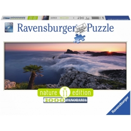 Ravensburger Puzzle - Panoramapuzzle - Im Wolkenmeer, 1000 Teile