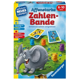 Ravensburger Spiel - Affenstarke Zahlen-Bande