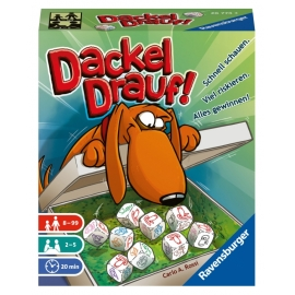 Ravensburger Spiel - Dackel drauf!