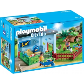 PLAYMOBIL 9277 - City Life - Kleintierpension