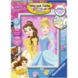 Ravensburger Spiel - Malen nach Zahlen - Belle & Cinderella