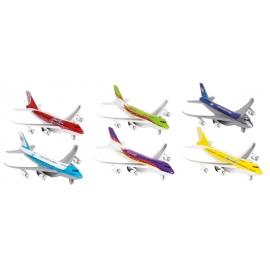 Flugzeuge mit Licht und Geräusche