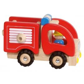 Holzfahrzeug Feuerwehr
