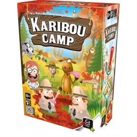 Asmodee Karibou Camp