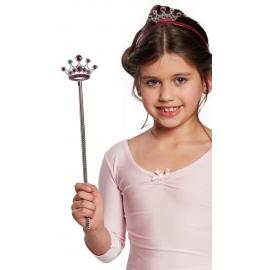 Prinzessinnenstab Diadem pink orgi. STD