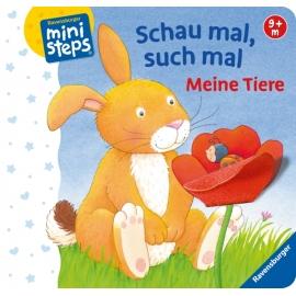 Ravensburger 040834 ministeps Buch Schau mal, such mal Tiere