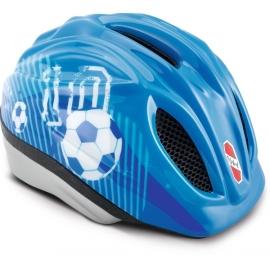 Puky 9524 Fahrradhelm PH 1-S/M blau Fußball