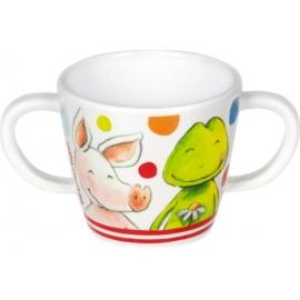 Melamin-Tasse mit 2 Henkeln  Die Lieben